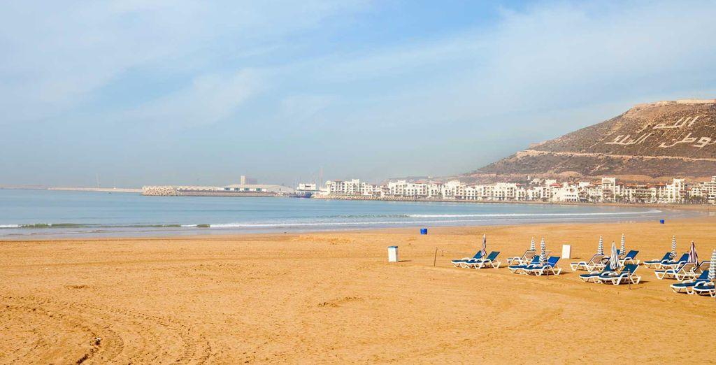 Visit the gorgeous beach