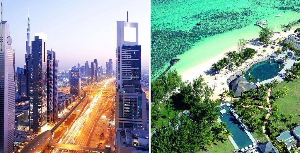 A dazzling city and a tropical island – set off for Dubai and Mauritius
