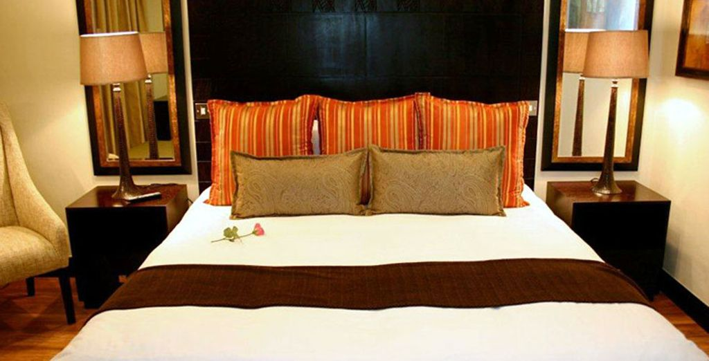 With immaculately decorated rooms