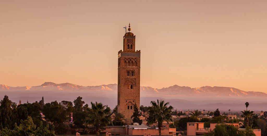 20 minutes drive from the centre of Marrakech