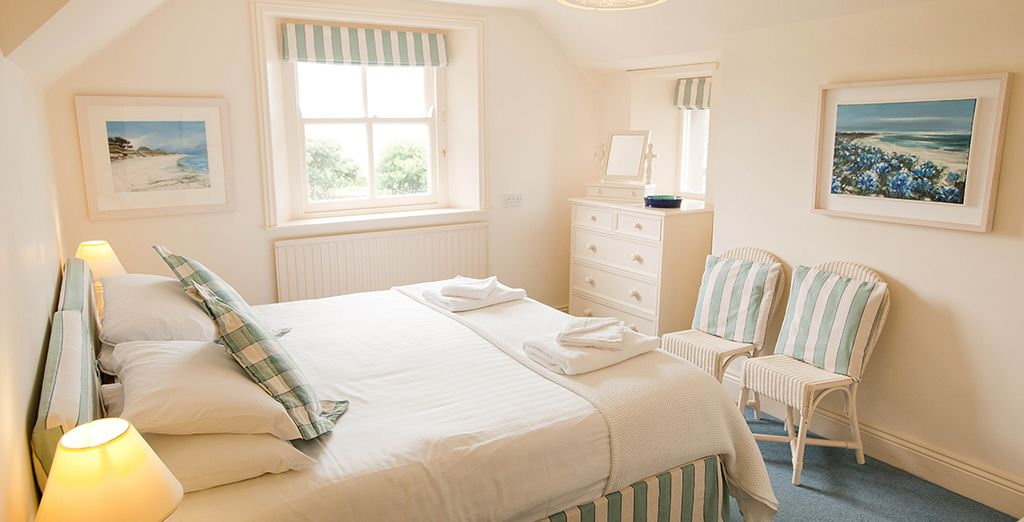Stay in a bright Double Room