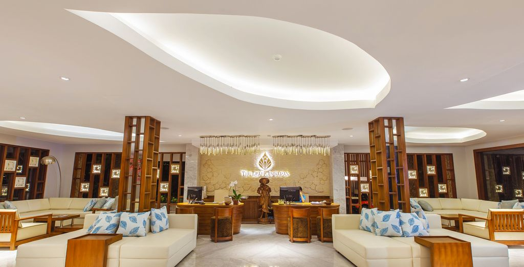 Enjoy the lovely interiors as you check in