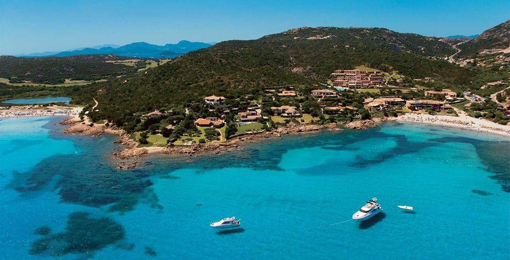 On Sardinia's beautiful Emerald Coast