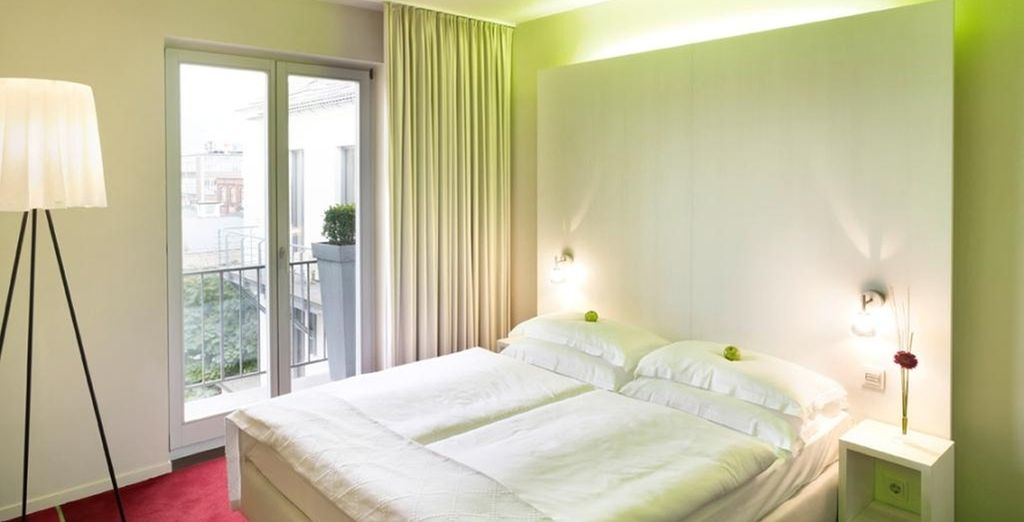 With fresh, minimalist rooms