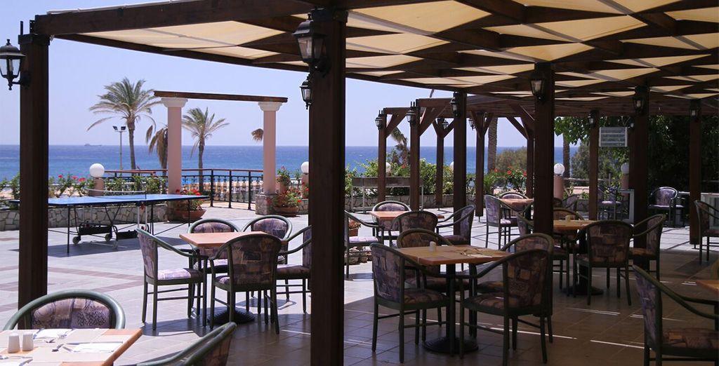So tuck in to the delicious Mediterranean cuisine