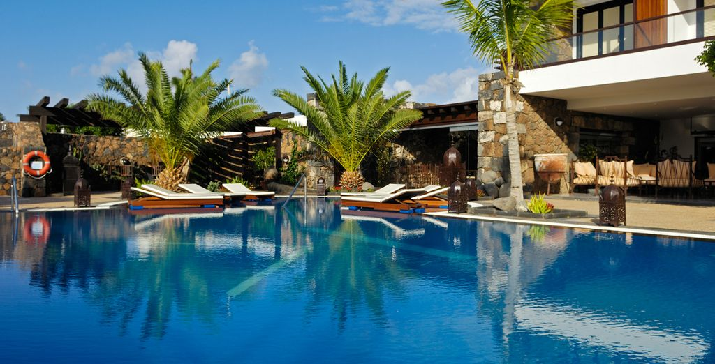 Villa Vik is a small boutique hotel - Hotel Villa Vik 5* Arrecife