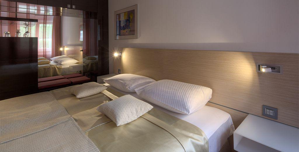 Where your superior room awaits