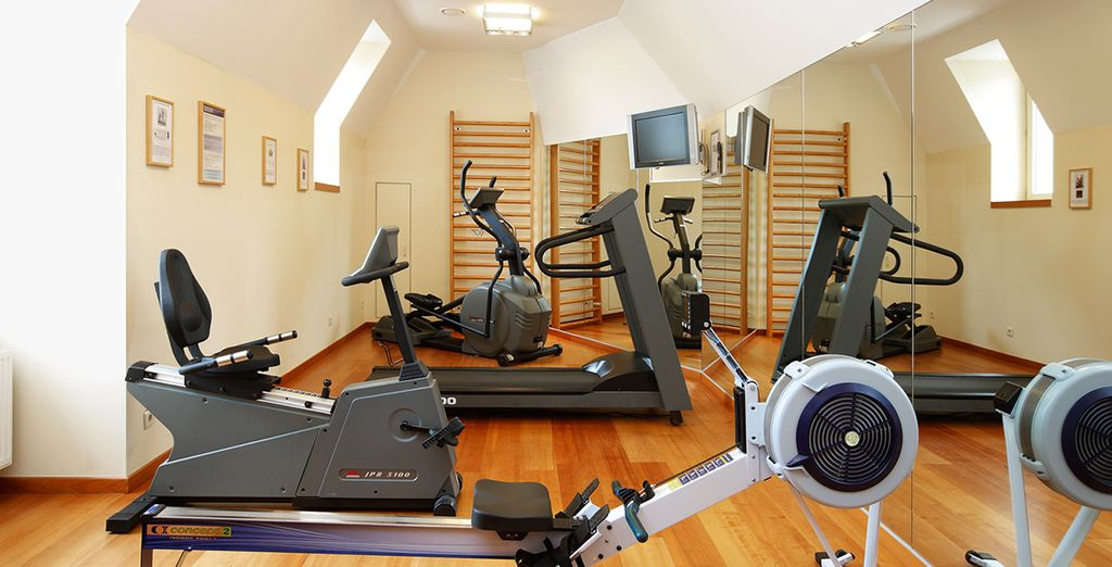 And a session in the fitness centre is great after a day sightseeing!