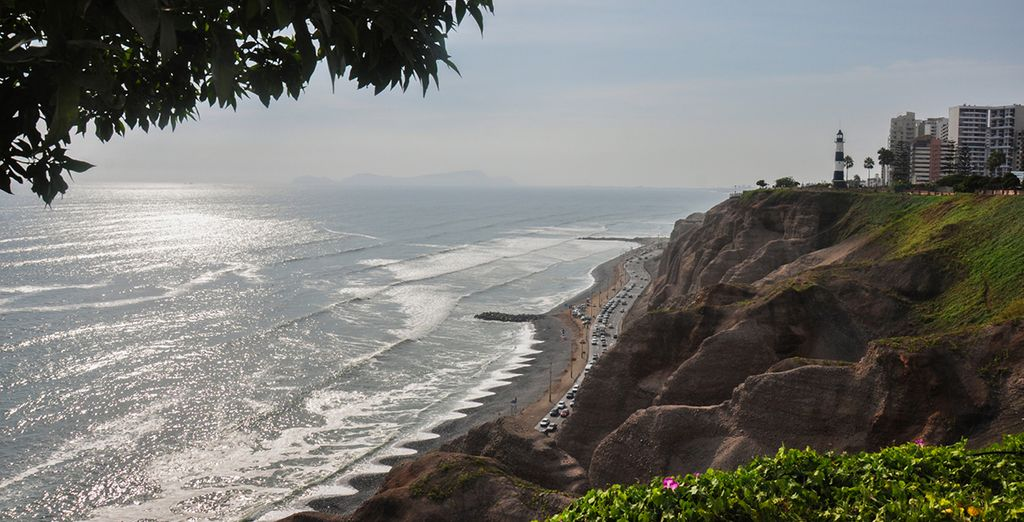 Beginning in the beachside city of Lima - Peru Adventure 3/4* Peru