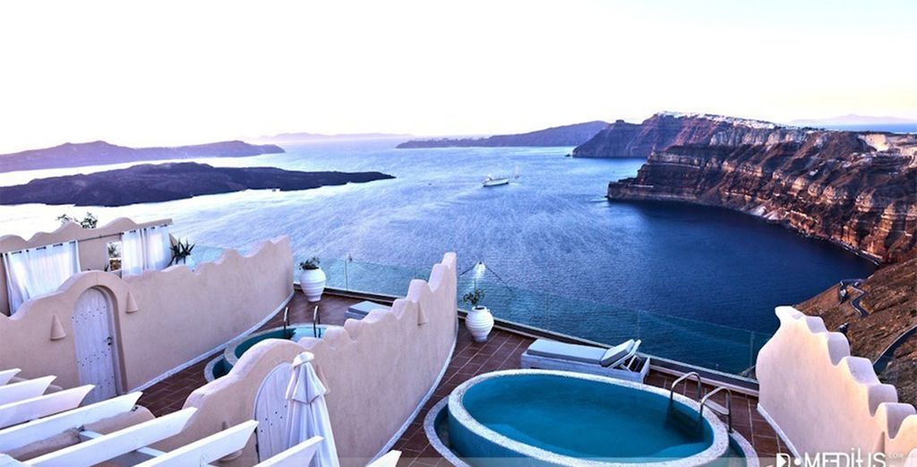 With a private plunge pool
