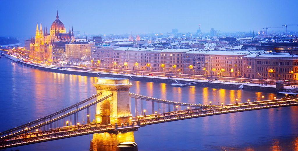 Discover Hungary and experience beautiful river cruise view