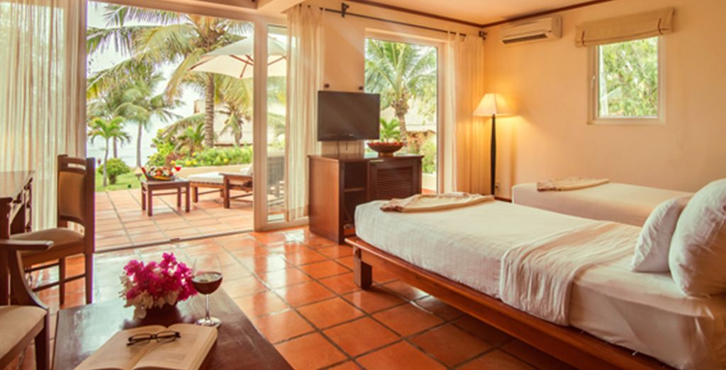 You can enjoy quality 4* hotels throughout