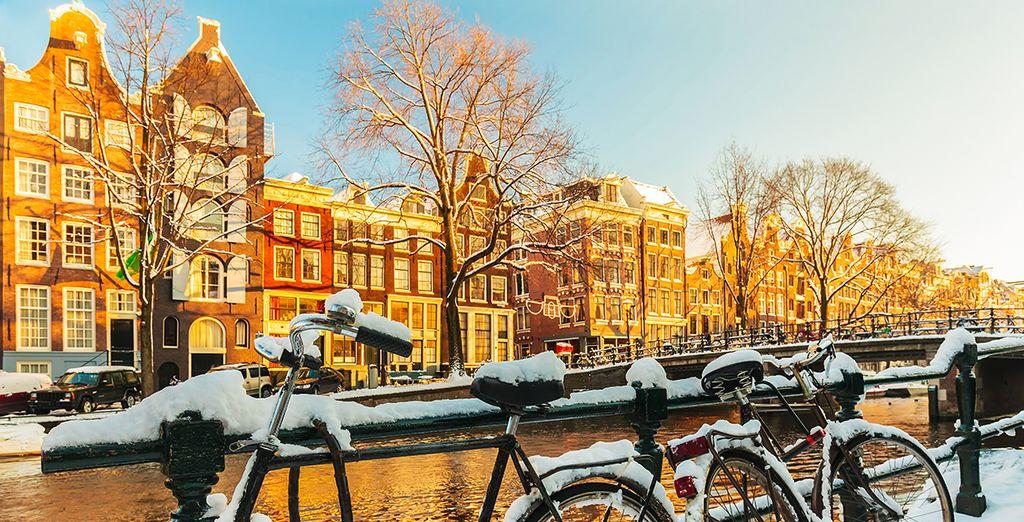 Explore Amsterdam in Winter's gentle glow