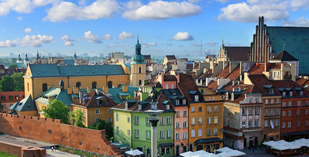 Explore Poland's gem - the city of Warsaw