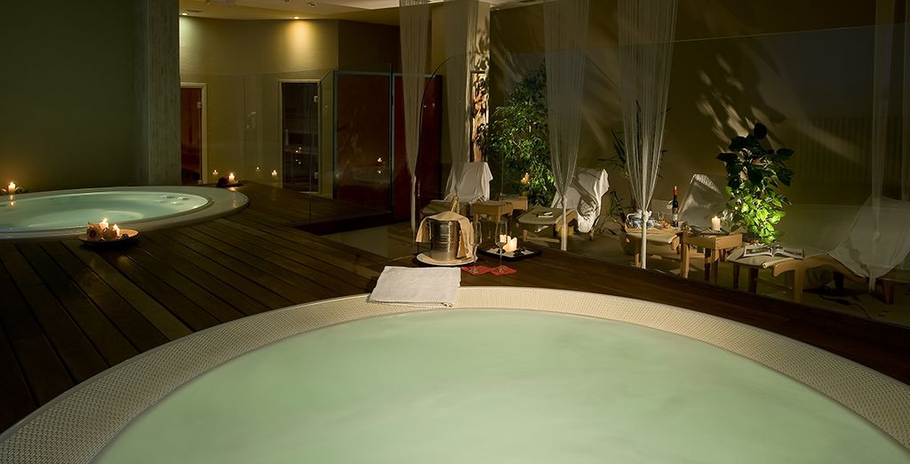 Where you have an exclusive discount on massages and treatments