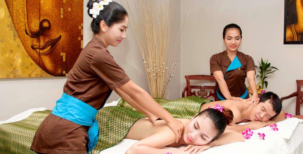 And serene spa treatments