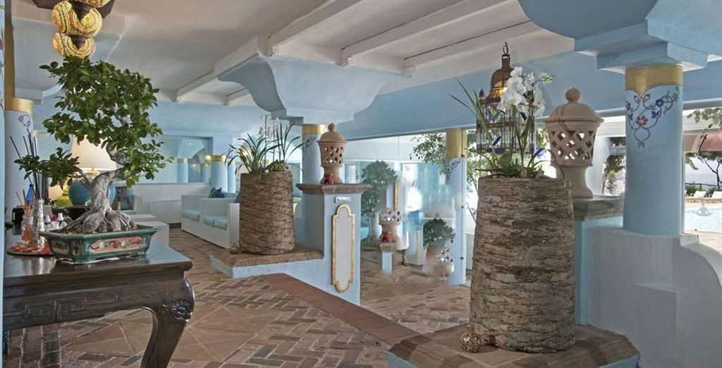 You have 1 free entry to the Wellness Thalasso and Spa centre
