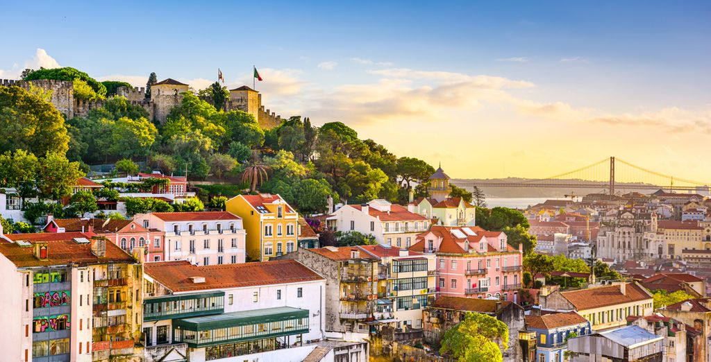 Revel in the cosmopolitan charms of Lisbon