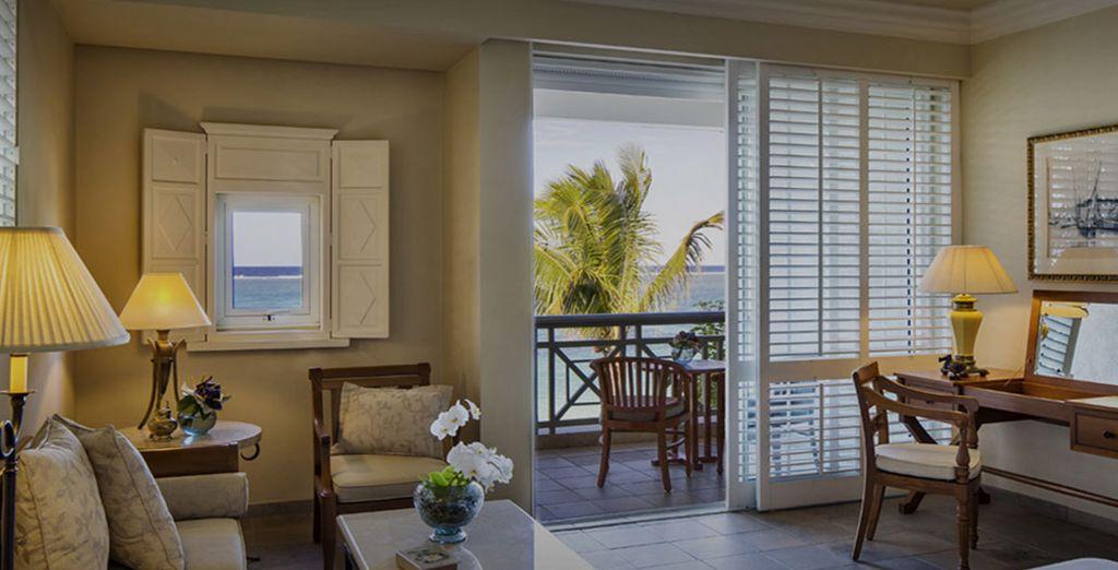 Enjoy your Ocean View Room