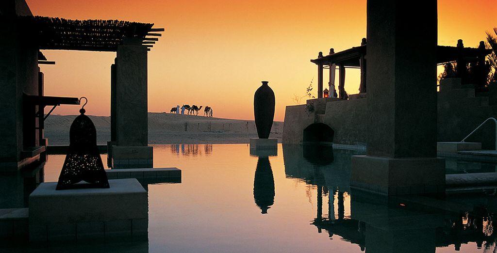 Luxury in the desert