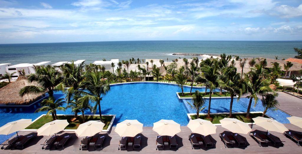 In some stunning locations (The Cliff Resort, Mui Ne)