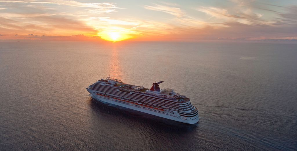 Then set sail on your cruise