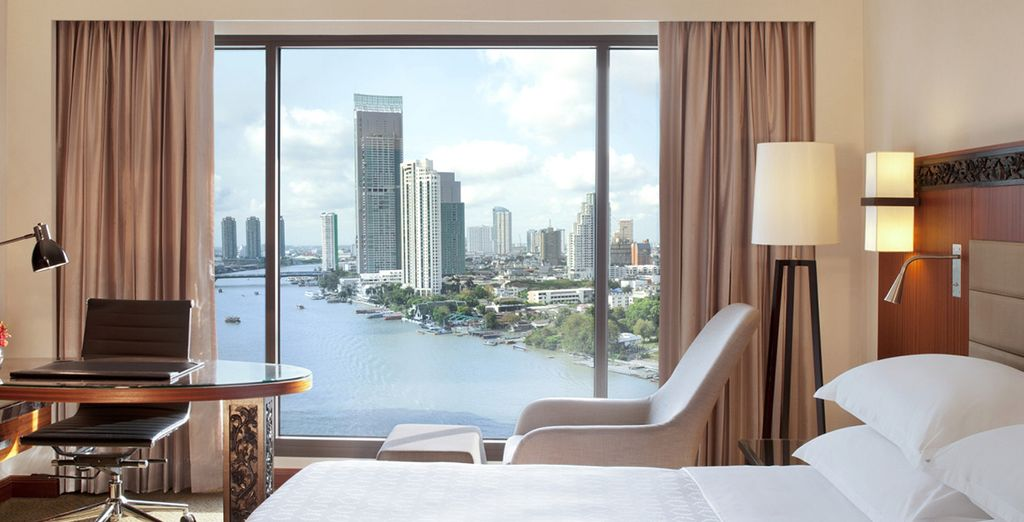 Where your room overlooks the famous River of Kings