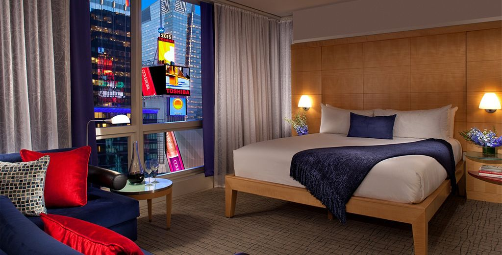 Our members can enjoy a spacious Premier Room