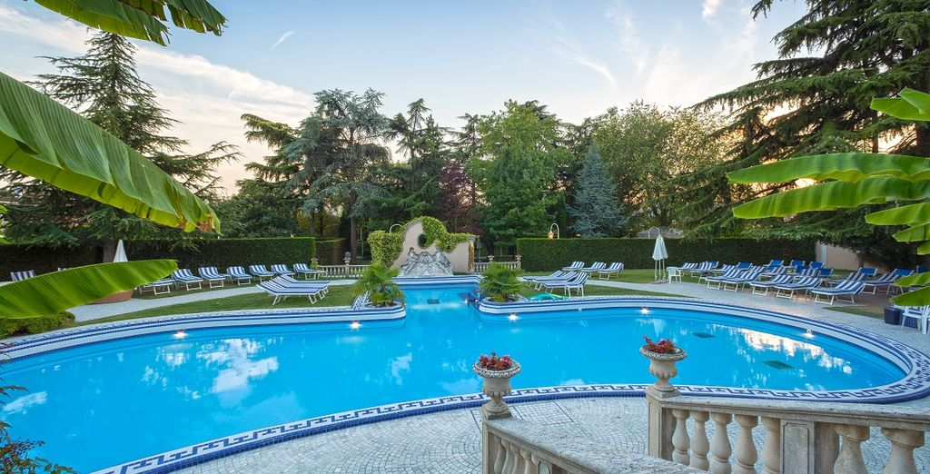 Welcome to the Abano Ritz Hotel Terme 5 *