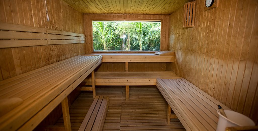 Rejuvenate at the sauna
