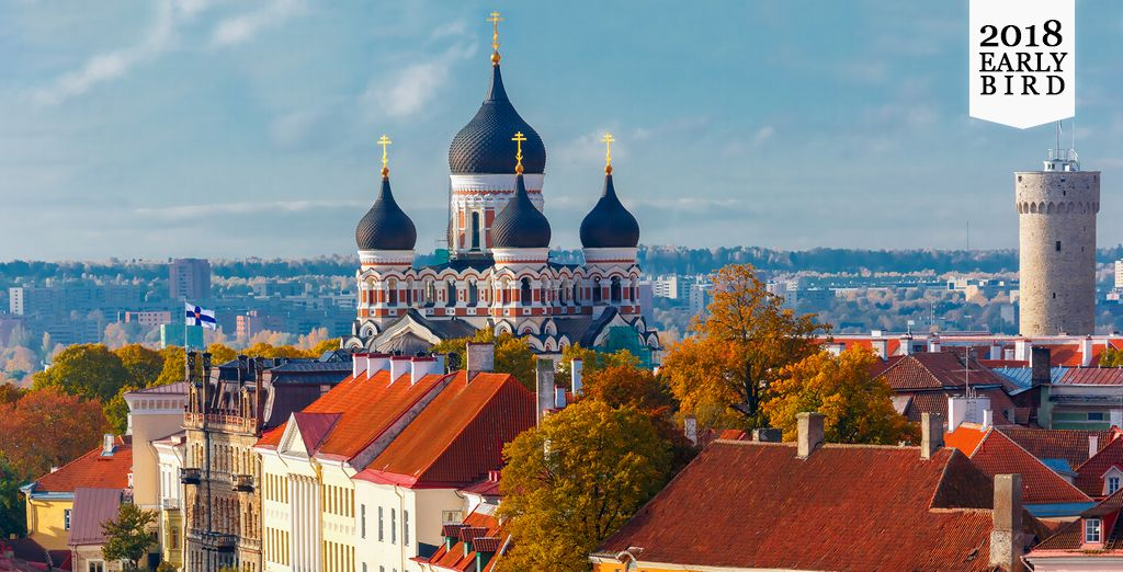 Explore the Baltic capitals of Lithuania, Latvia and Estonia next Summer
