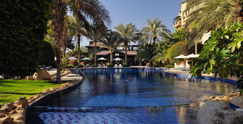 At the lovely Movenpick Resort Aqaba  5*