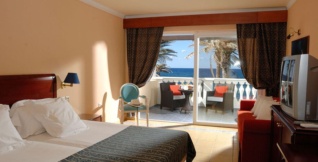 You can choose to stay in an upgraded Classic Room Waterfront