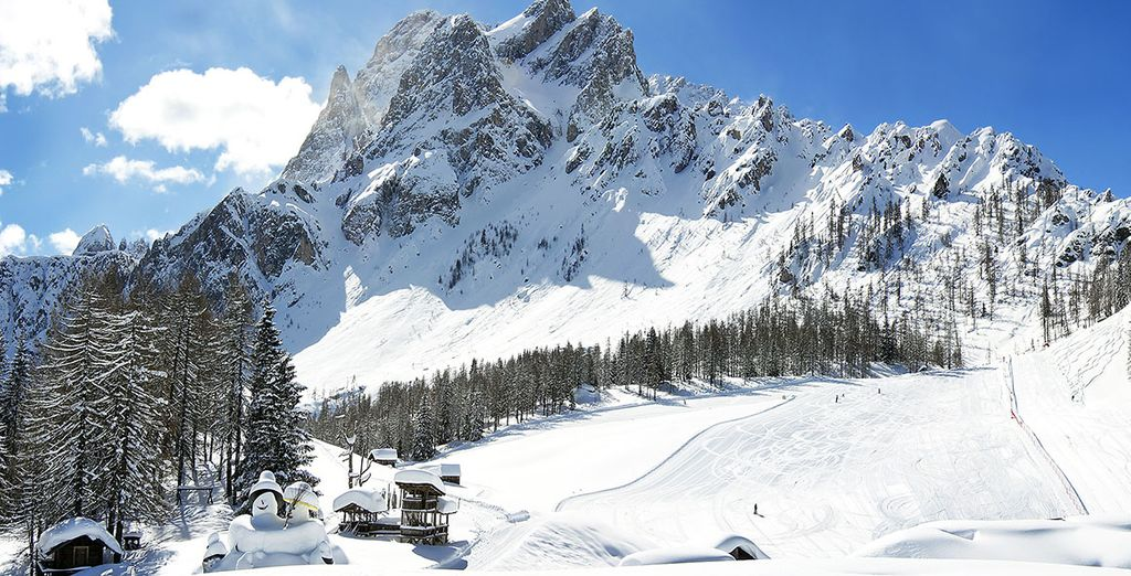 Ski resort in Europe : Italy*