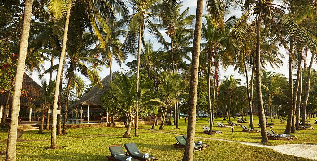 Step up to this exotic resort