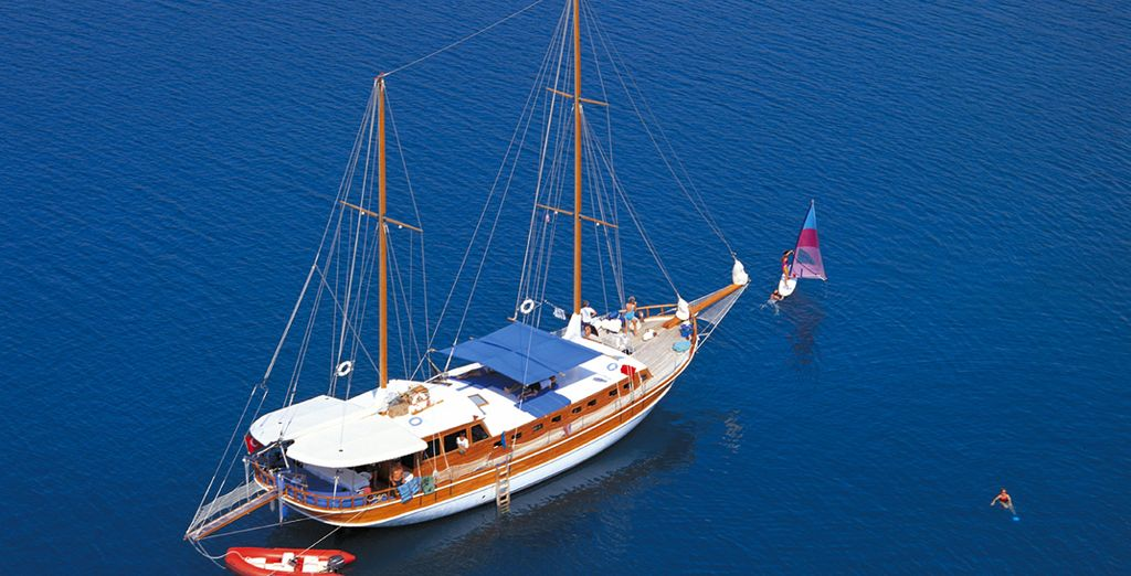 Turkish Traditional Wooden Gulet Cruise - cruises in Turkey