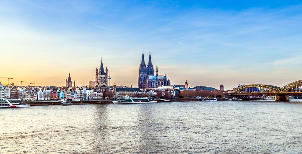 In the distant city of Cologne, Germany