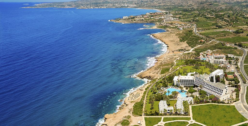 In the coastal city of Paphos - Azia Resort & Spa 5* Paphos