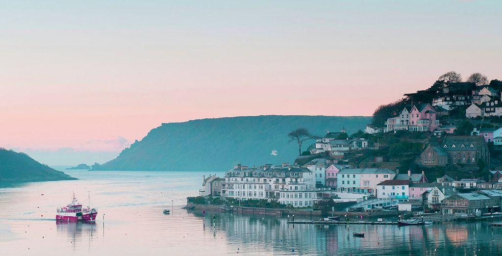 Explore the pretty town...