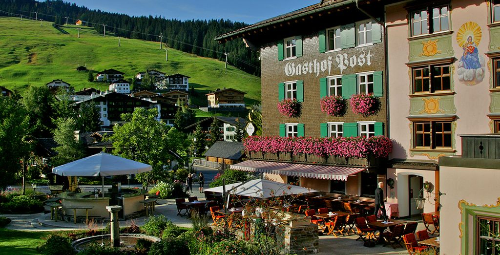 Hotel Gasthof Post Lech 5*