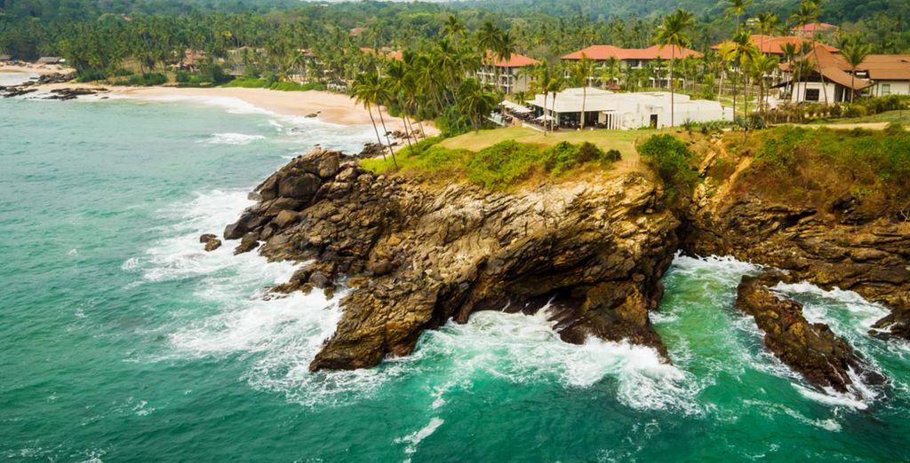 Next we will whisk you away to Sri Lanka's Tangalle Coast