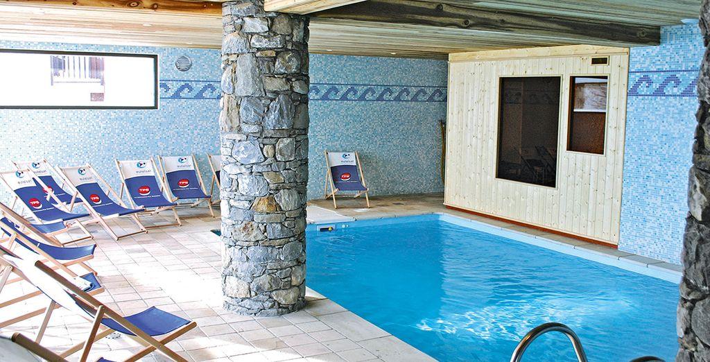 Plus free use of the pool & sauna