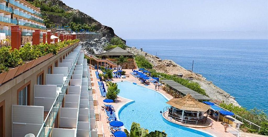 When you stay at this superb hillside hotel - Mogan Princess 4* Gran Canaria