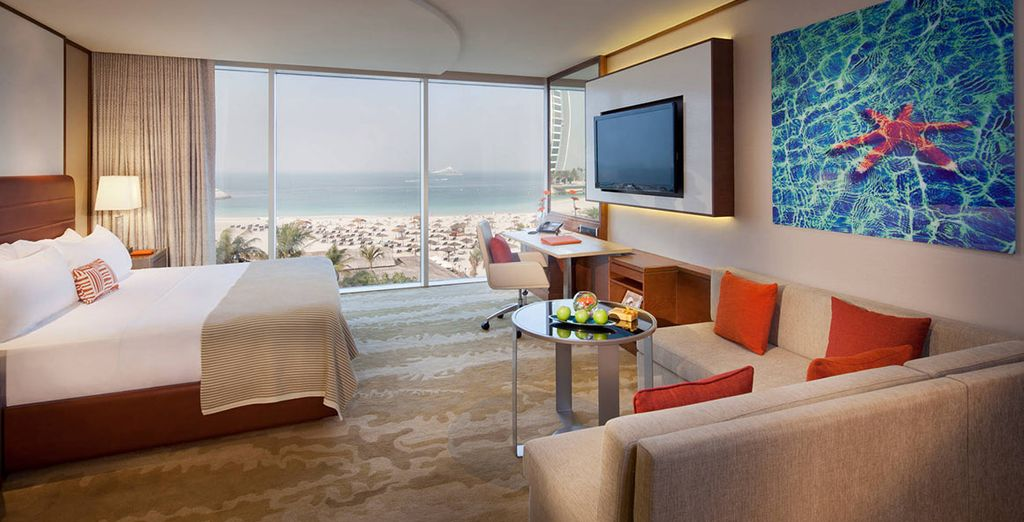 You'll be upgraded to an Ocean Superior Room