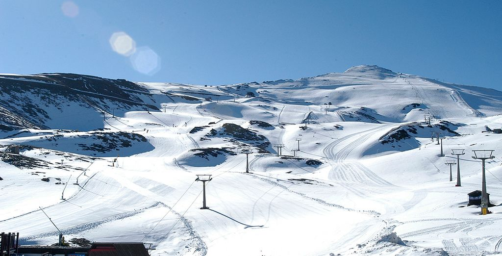 ... you can choose to ski or relax in this beautiful and idyllic location