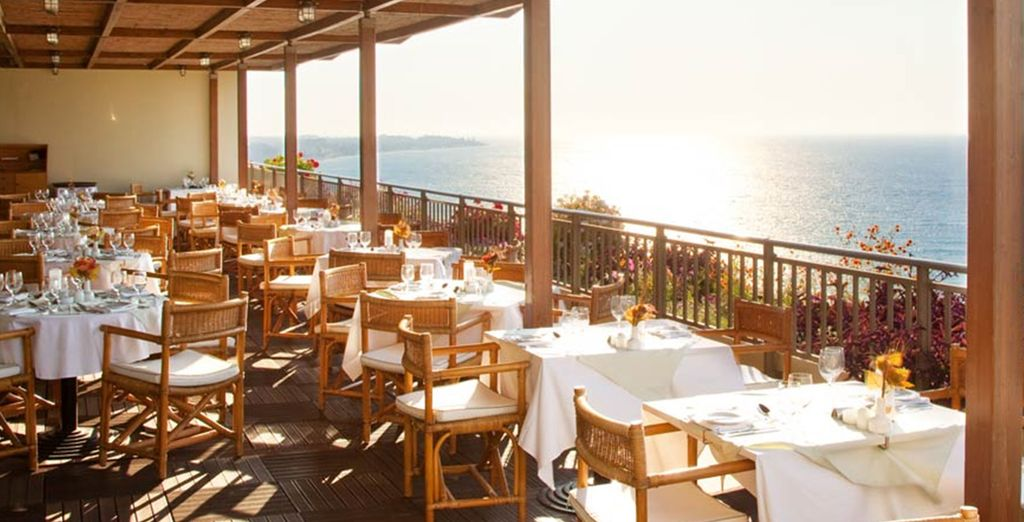 And you can enjoy all inclusive dining throughout your stay
