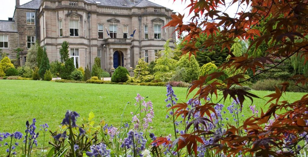 At Tre-ysgawen Hall Country House Hotel & Spa