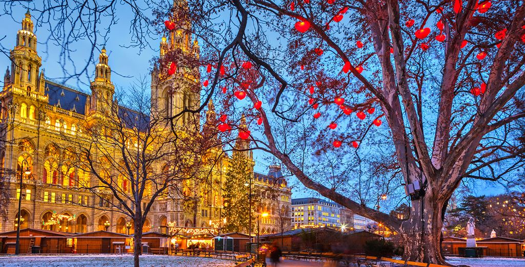 Discover magic Hungarian landscape in Christmas Time with Voyage Privé