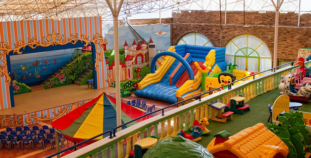 The leisure facilities will keep all ages entertained