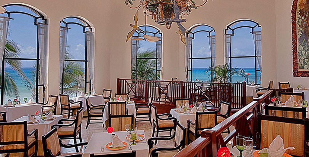 Enjoy all inclusive dining